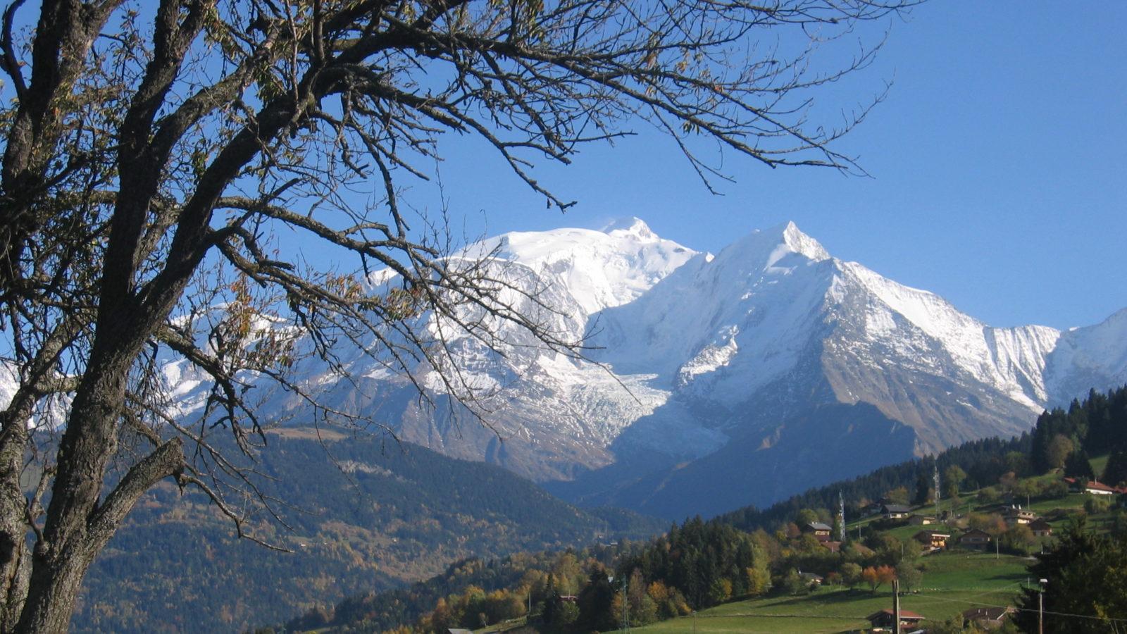 Le Miroir du Mont-Blanc à Combloux Megève